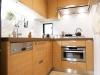料理好きが高じて始めたオリジナルキッチンのデザインは、美しくまた機能性も兼ね備えている。