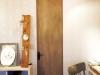 ES塗装のシナ材で造作した扉。