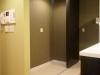 大容量の収納スペース。冷蔵庫などの家電を収納することで、生活感の排除に成功。