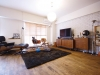 家具との相乗効果でレトロモダンな雰囲気に仕上がったリビング。