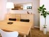 オーク材を使用した上品なデザインのダイニングテーブルとセブンチェア。名作北欧家具も豊富にラインアップ。